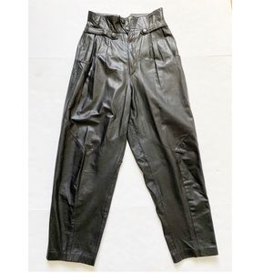 VTG Wilson's | leather super hi waist pants
